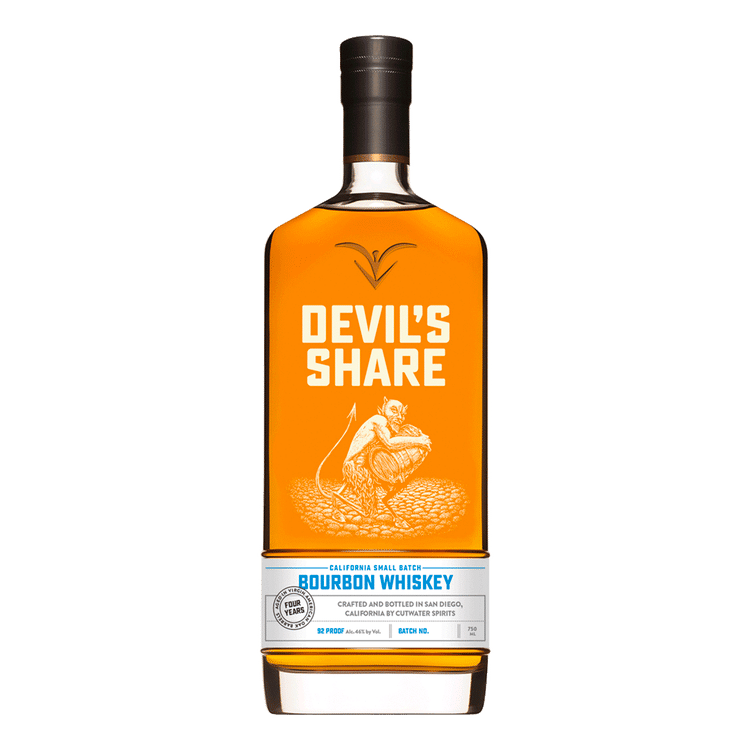 Cutwater Devil's Share Bourbon Whiskey - Available at Wooden Cork