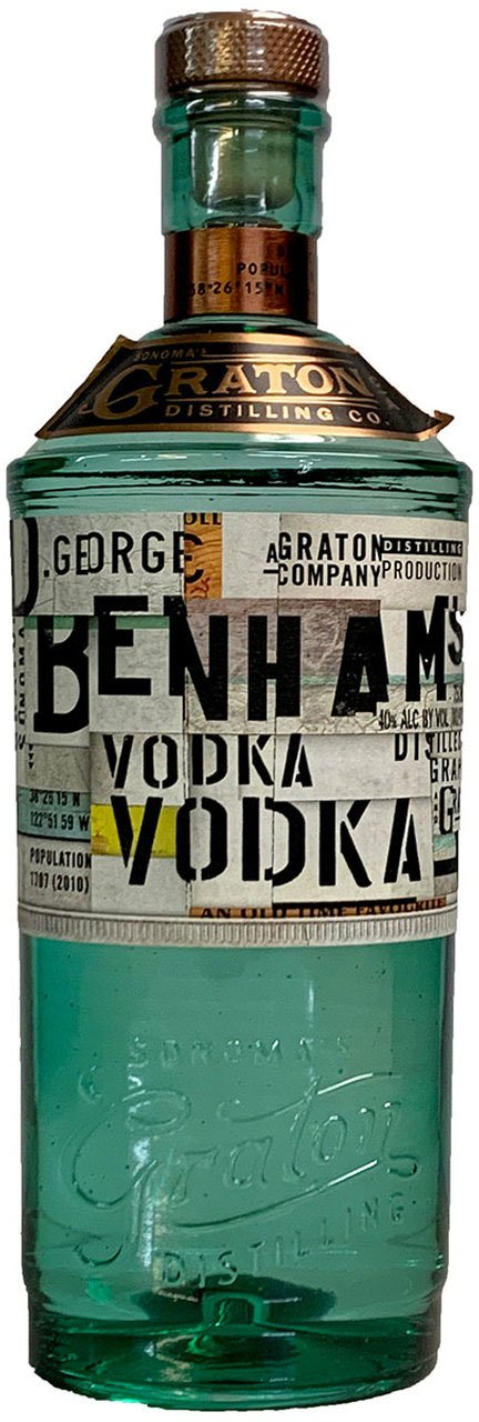 D. George Benham's Vodka - Available at Wooden Cork
