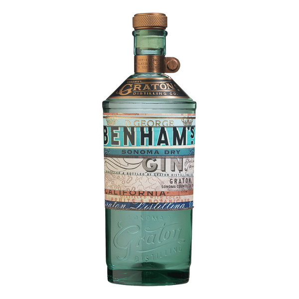 D. George Benham's Sonoma Dry Gin - Available at Wooden Cork