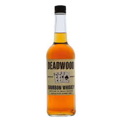 Deadwood Straight Bourbon Whiskey - Available at Wooden Cork