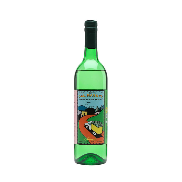 Del Maguey Minero Mezcal Tequila - Available at Wooden Cork