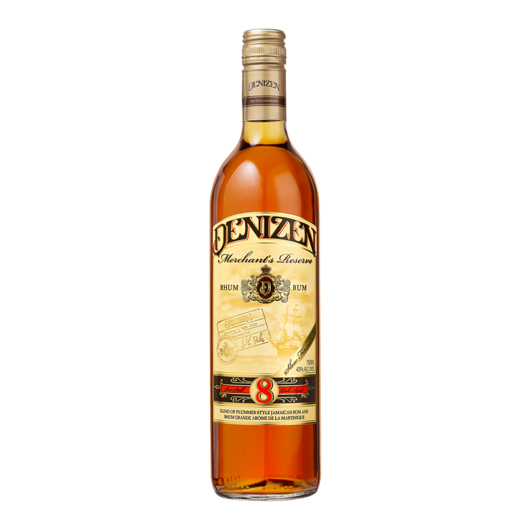 Denizen Merchant's Reserve 8 Year Old - Available at Wooden Cork