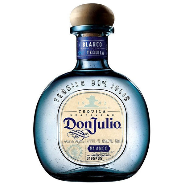 Don Julio Tequila Blanco - Available at Wooden Cork