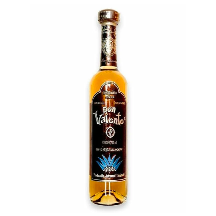 Don Valente Anejo Tall Bottle Tequila - Available at Wooden Cork