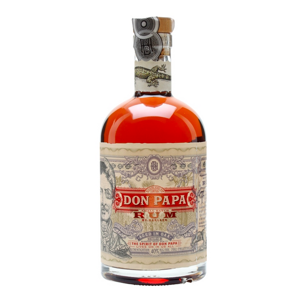 Don Papa Small Batch Rum - Available at Wooden Cork