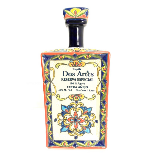 Dos Artes Extra Anejo 1L Tequila - Available at Wooden Cork