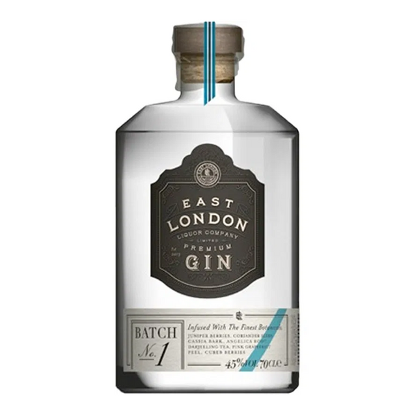 East London Liquor Company Premium Gin Batch No.1 - Available at Wooden Cork