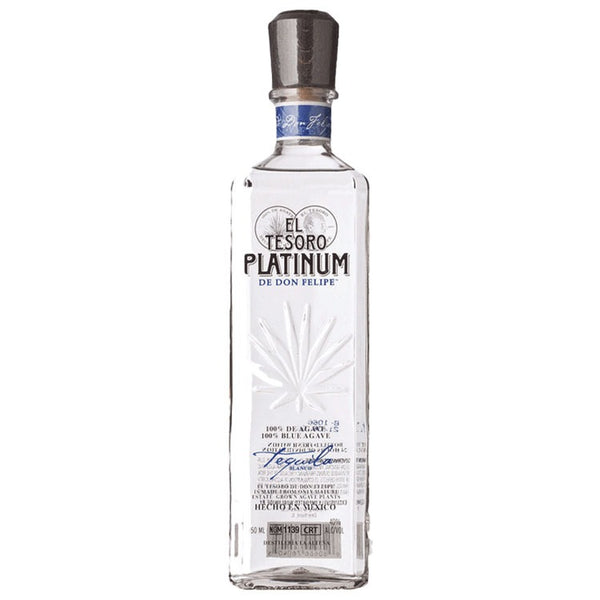 El Tesoro Silver Tequila - Available at Wooden Cork