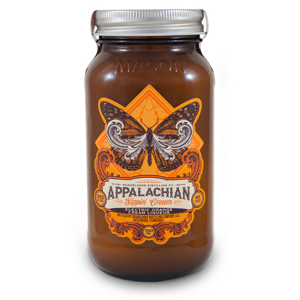 Sugarlands Shine Electric Orange Sippin' Cream - Available at Wooden Cork
