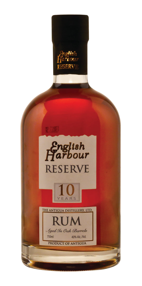 English Harbour 10 Year Old Rum - Available at Wooden Cork