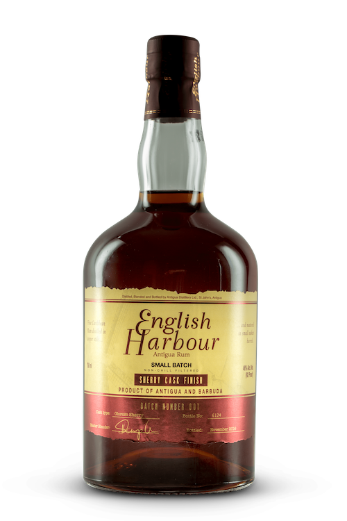 English Harbour Sherry Cask Finish - Available at Wooden Cork