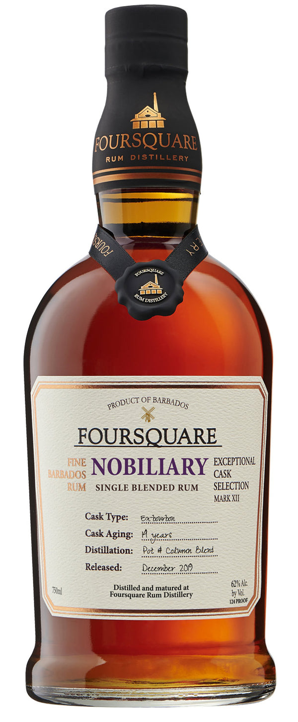 "Foursquare Mark XII ""Nobiliary"" Single Blended 14 Year Rum - Available at Wooden Cork"