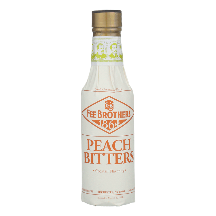 Fee Brothers Peach Bitters - Available at Wooden Cork