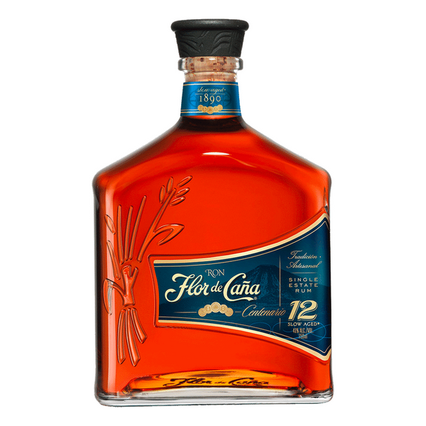 Flor De Cana 12 Year Rum - Available at Wooden Cork