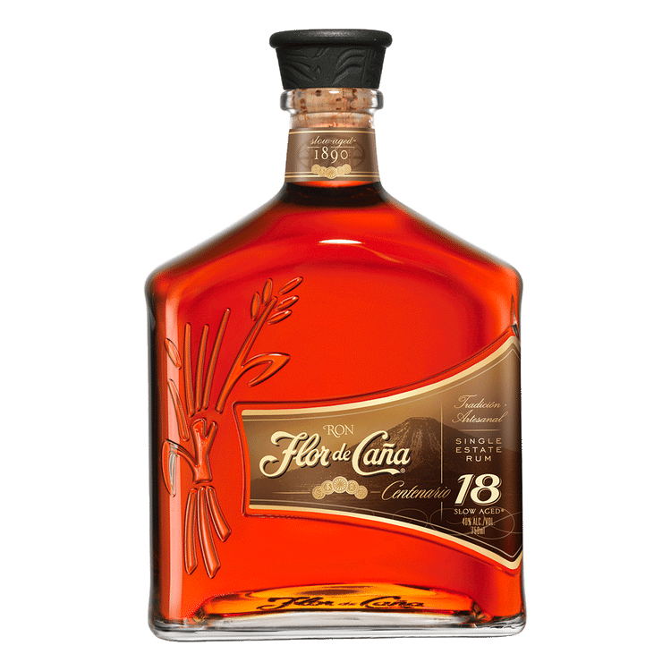 Flor De Cana 18 Year Rum - Available at Wooden Cork