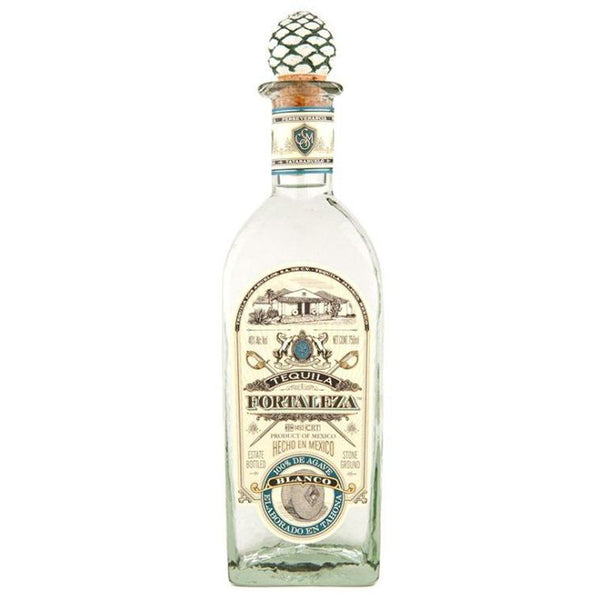 Fortaleza Blanco Tequila - Available at Wooden Cork