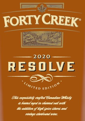 Forty Creek Resolve