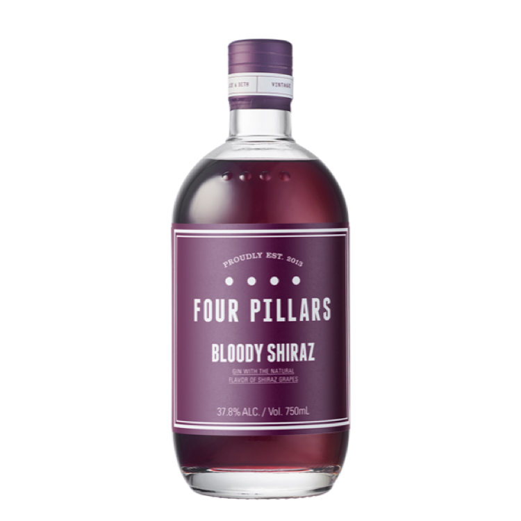 Four Pillars Bloody Shiraz Gin - Available at Wooden Cork