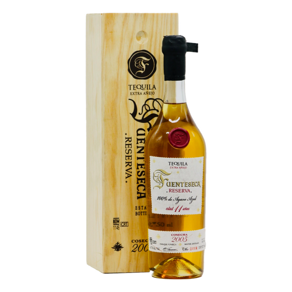 Fuenteseca Reserva Cosecha 2005 Extra Añejo 11 Years Tequila - Available at Wooden Cork