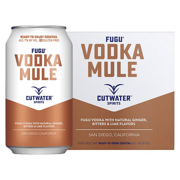 Cutwater Fugu Vodka Mule - Available at Wooden Cork