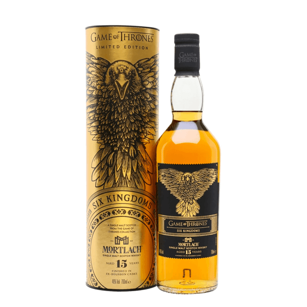 Game of Thrones Six Kingdoms Mortlach 15 Year Old - Available at Wooden Cork