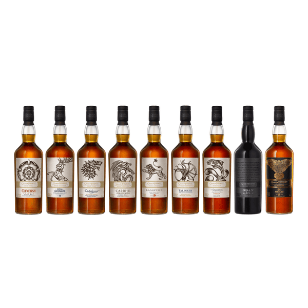 Game Of Thrones Complete Set Scotch Whisky - Available at Wooden Cork