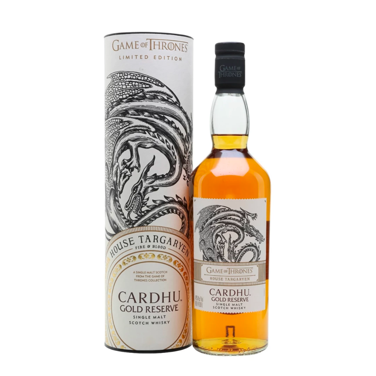 Game of Thrones House Targaryen Cardhu Gold Reserve - Available at Wooden Cork
