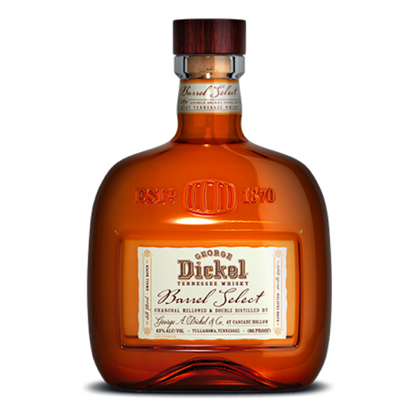 George Dickel Barrel Select Whiskey - Available at Wooden Cork