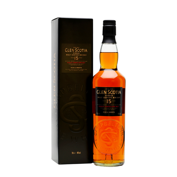 Glen Scotia 15 Year Single Malt Whisky - Available at Wooden Cork