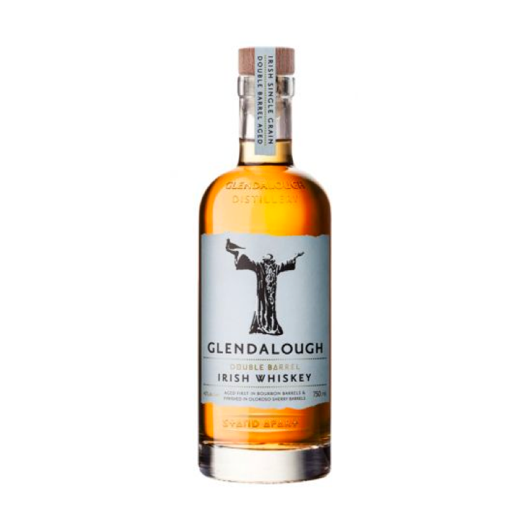 Glendalough Double Barrel Irish Whiskey - Available at Wooden Cork
