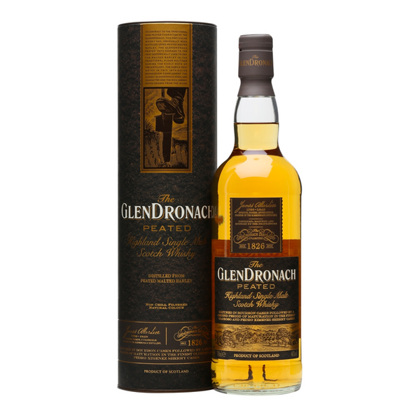 Glendronach Peated Single Malt Whiskey - Available at Wooden Cork