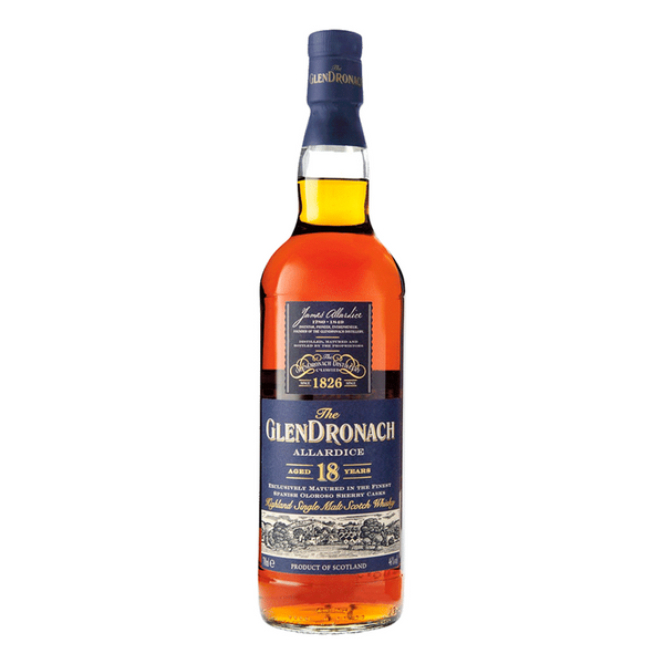Glendronach Allardice 18 Year Scotch Whiskey - Available at Wooden Cork