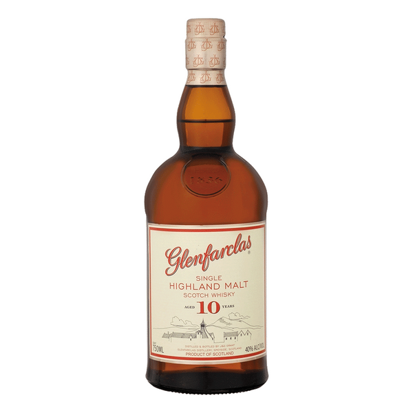 Glenfarclas 10 Year Scotch Whiskey - Available at Wooden Cork