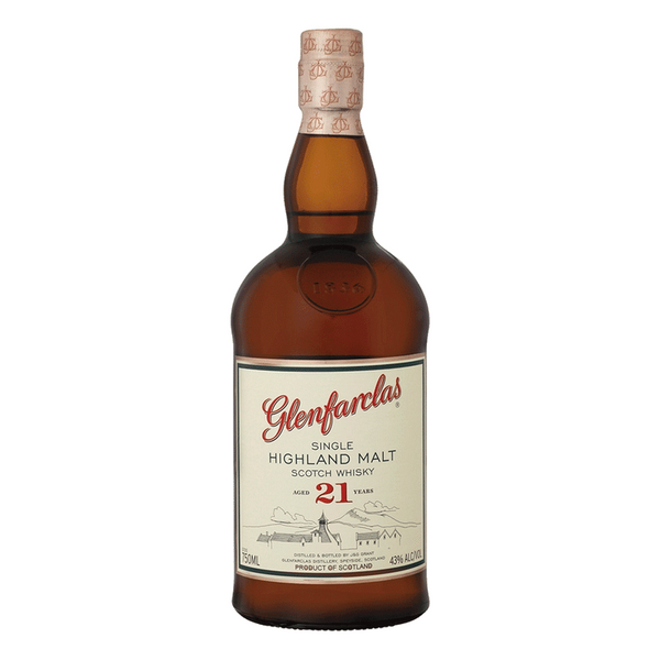 Glenfarclas 21 Year Scotch Whiskey - Available at Wooden Cork