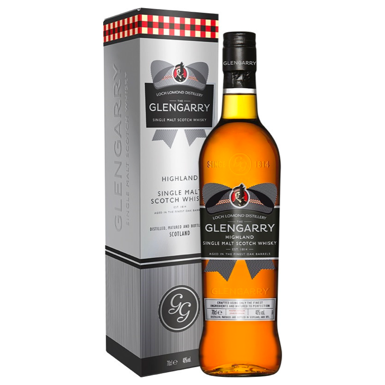 Glengarry Blended Scotch Whiskey - Available at Wooden Cork