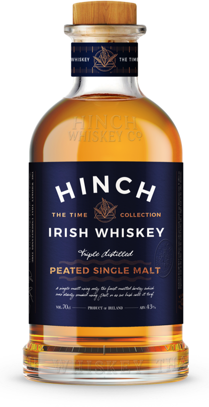 Hinch Distillery Peated Single Malt Irish Whiskey - Available at Wooden Cork