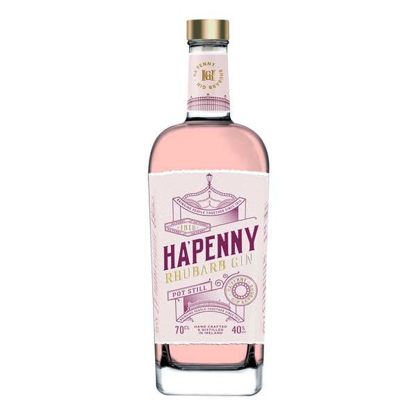 Ha'Penny Rhubarb Gin - Available at Wooden Cork