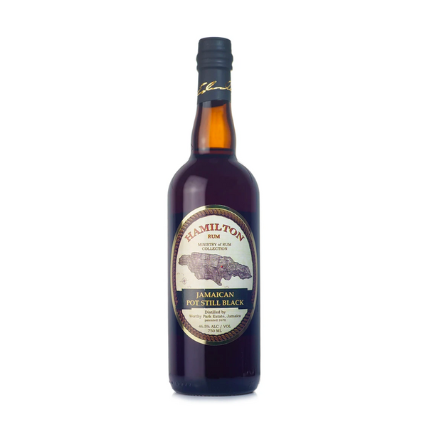 Hamilton Jamaican Pot Still Black Rum - Available at Wooden Cork