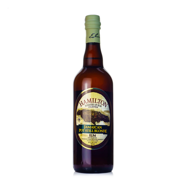 Hamilton Jamaican Pot Still Blonde Aged Rum - Available at Wooden Cork