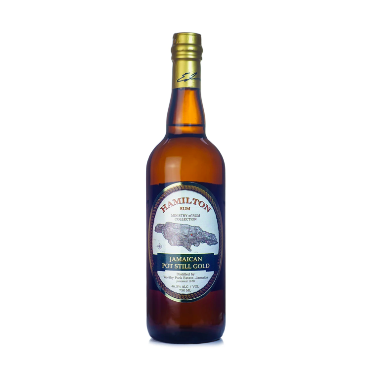 Hamilton Jamaican Pot Still Gold Rum - Available at Wooden Cork