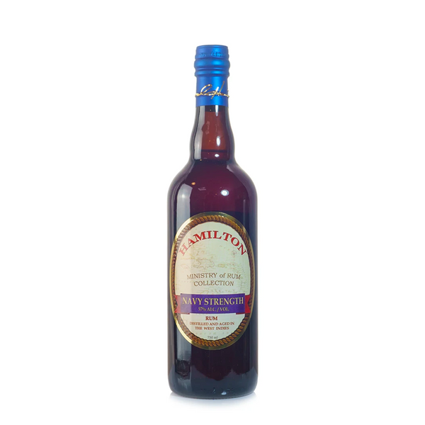 Hamilton Navy Strength Rum - Available at Wooden Cork