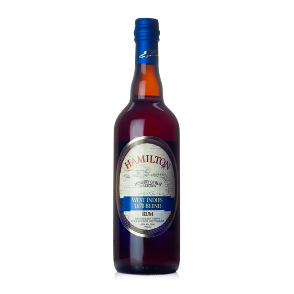 Hamilton West Indies 1670 Blend Rum - Available at Wooden Cork