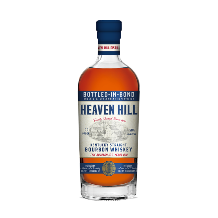 Heaven Hill Bottled-in-Bond 7 Year Old Bourbon - Available at Wooden Cork