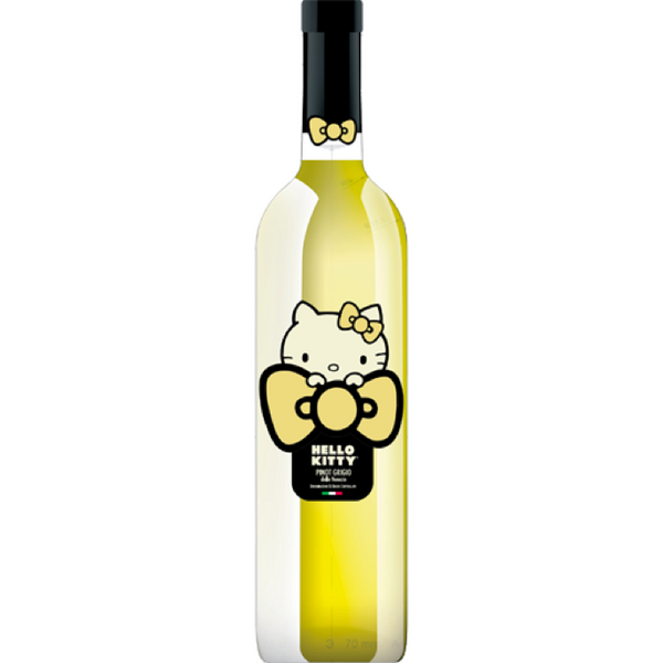 Hello Kitty Pinot Grigio - Available at Wooden Cork
