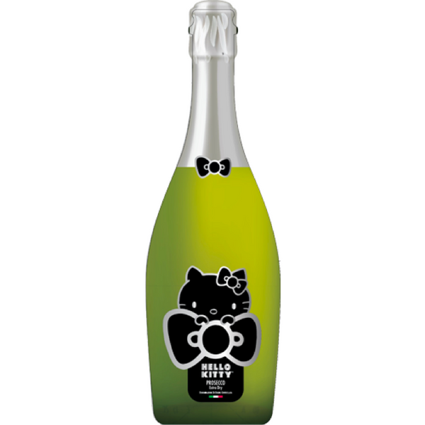 Hello Kitty Prosecco - Available at Wooden Cork