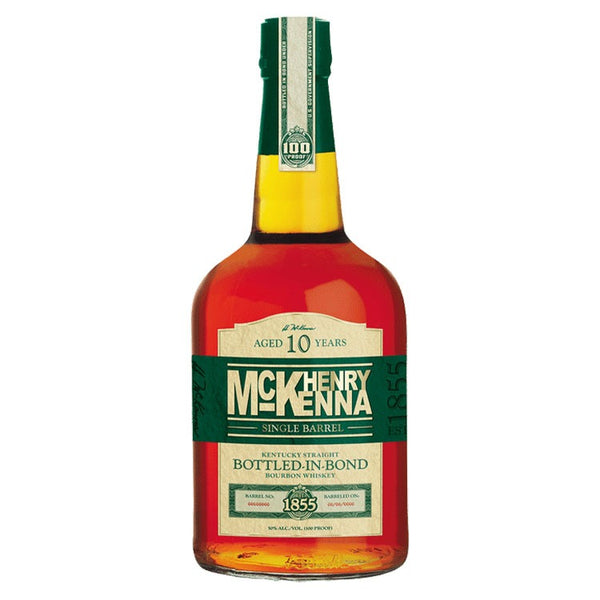 Henry Mckenna Single Barrel Bourbon - Available at Wooden Cork