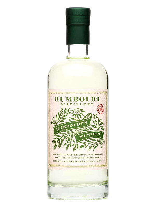 Humboldt Distillery Humboldt's Finest Vodka - Available at Wooden Cork