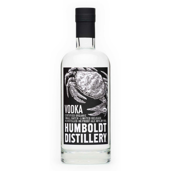 Humboldt Distillery Organic Vodka - Available at Wooden Cork