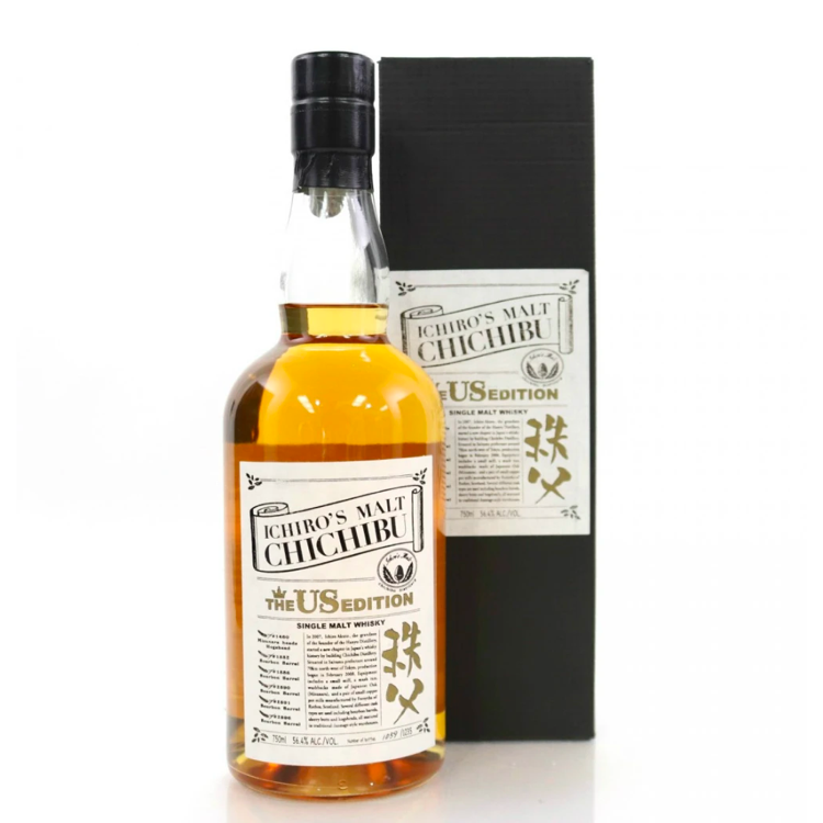 Ichiro's Malt Chichibu The US Edition 2019 Single Malt Whiskey - Available at Wooden Cork