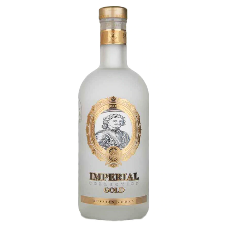 Imperial Collection Gold Vodka - Available at Wooden Cork